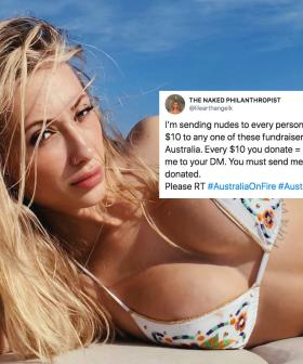 Model Raises Over $100K for Bushfire Relief By Sending Fans Nudes