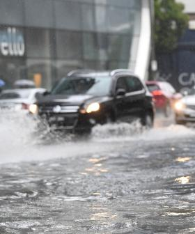 Melbourne Hit By Heavy Rain Overnight And It's Not Going Anywhere For DAYS, So That's Another Reason To Stay Home