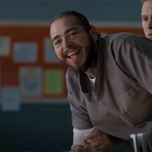 Post Malone Scores Movie Role With Mark Wahlberg in Spenser Confidential