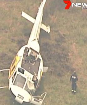 Fire Helicopter Pilot Escapes After NSW Crash