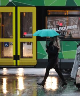 Melbourne To Get Constant Rain Over The Course Of The Next Week, So, Those Outdoor Gatherings Won't Be Happening