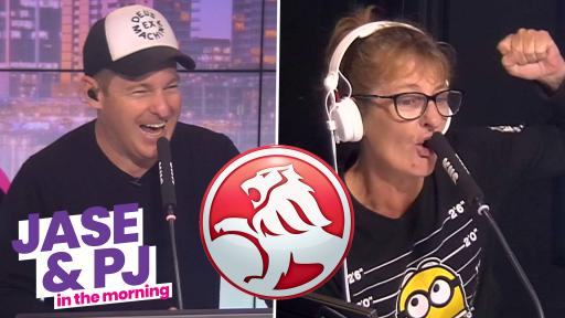 Aussie Battler Nana Shaz is Taking Us on a Holden Hot Lap Friday Morning! 😂🏁