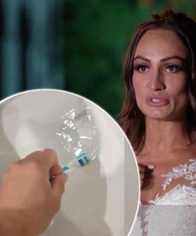 'It Is Real. It's Repulsive' - MAFS' Hayley Confirms Toothbrush Gate