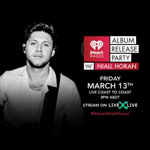 Niall Horan to Celebrate 'Heartbreak Weather' with Album Release Party