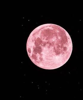 Melbourne Is Getting A Rare Super Moon Tonight & It'll Be Tickled Pink