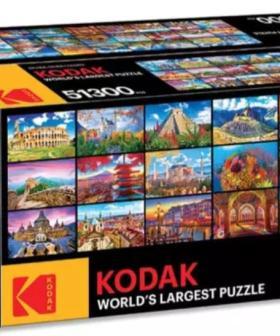 Kodak Is Selling A Jigsaw Puzzle So Big, It's Basically A Life Sentence