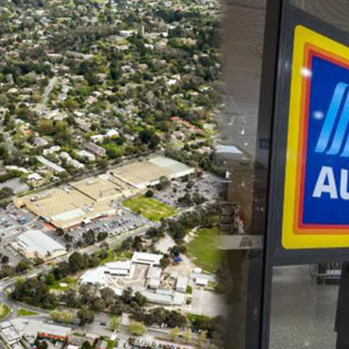 Melbourne Has A New Shopping Centre & It's Got A Redesigned Aldi!