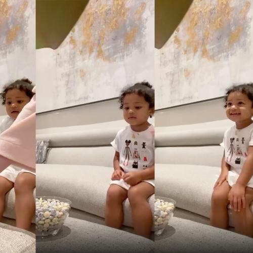 Kylie Jenner's 2-Year-Old Daughter Stormi Has More Patience Than We'll Ever Have In New, Viral Challenge