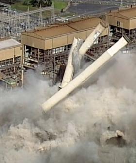 WATCH: Victoria's Hazelwood Power Station Just Got Demolished!
