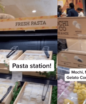 A Coles Which Has A Dessert Station, Pasta Bar & Orange Juice Machine Now Exists