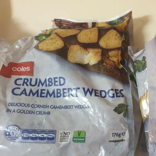 Coles Is Selling Crumbed Camembert Wedges For $5 & Imma Bout To Panic Buy