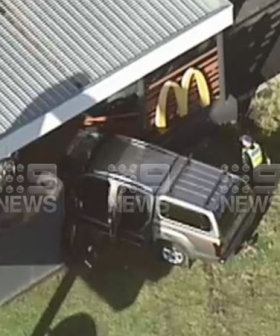 Elderly Man In Hospital After Crashing Into McDonalds Store In Melbourne's South-East