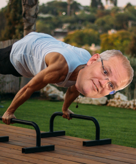 Scott Morrison Has Been Doing Calisthenics & Watching Tiger King During Iso