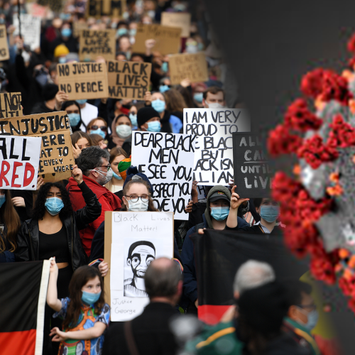 Top Expert Tells Melbourne Protesters That They Should Self-Isolate For 14 Days