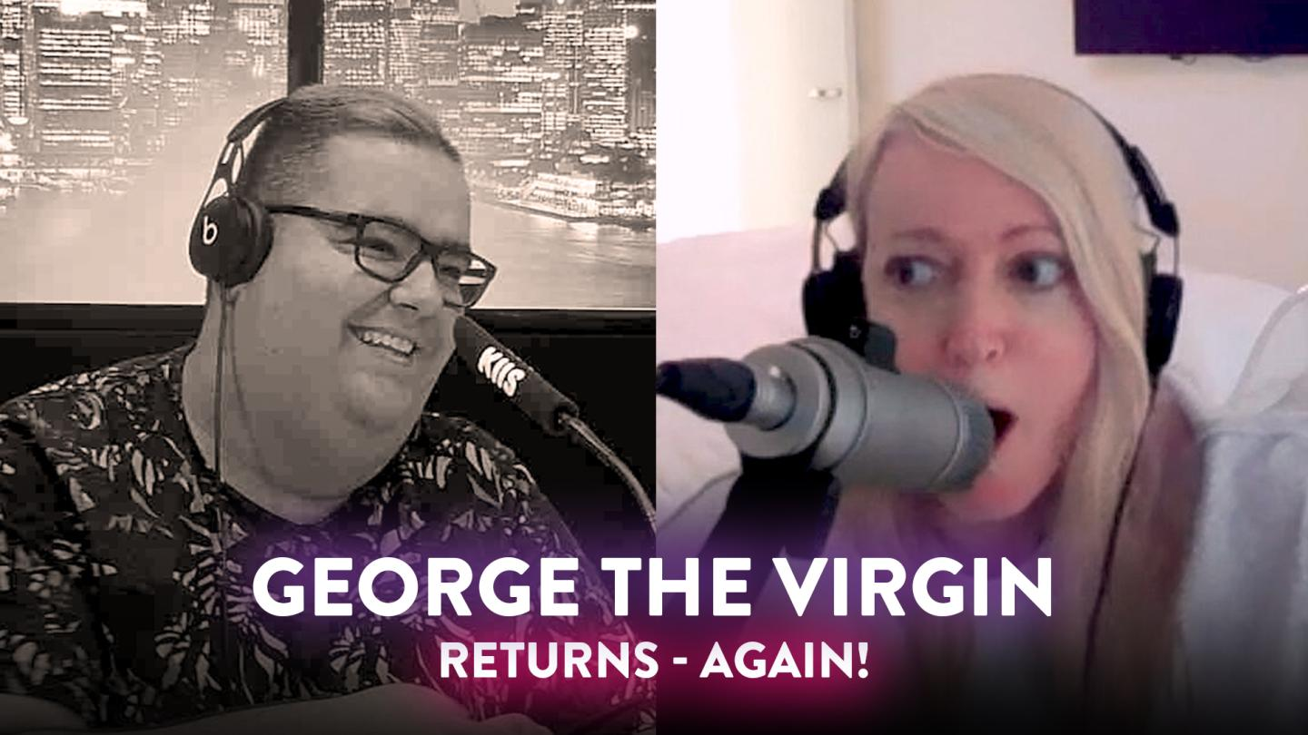 'George the Virgin' disses Jackie for the THIRD TIME!