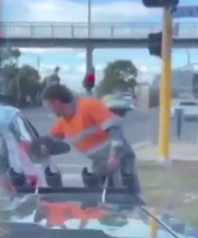 Aussie Tradie Praised After Fellow Commuters Awful Actions At The Lights