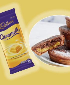 This Is How To Make Caramilk Custard-Filled Doughnuts With Your Kmart Pie Maker