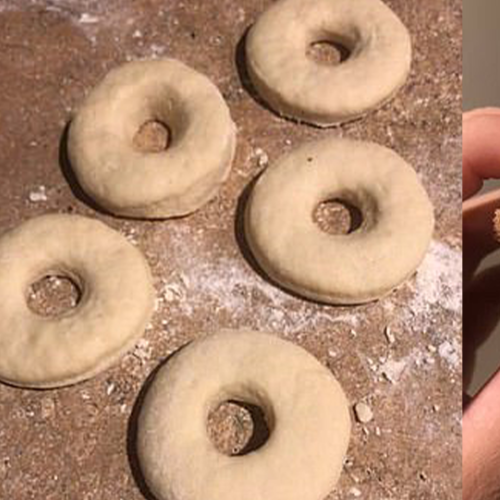 This Is How You Make Fluffy Doughnuts With Only TWO Ingredients