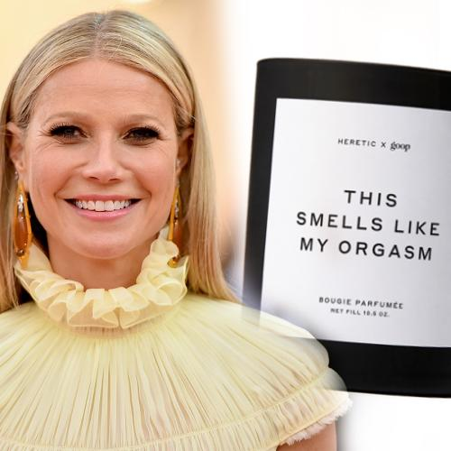 Gwyneth Paltrow's Brand Is Selling Another NSFW Candle Called 'This Smells Like My Orgasm'