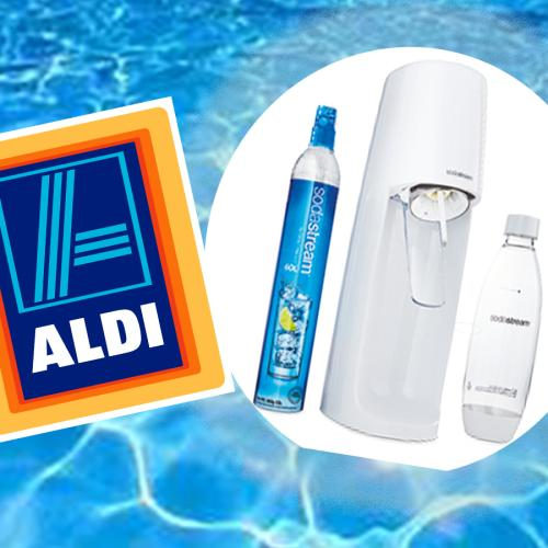 Aldi's Dropping SodaStreams For $70 So You Can Get That Sparkling Water Fix On The Cheap!