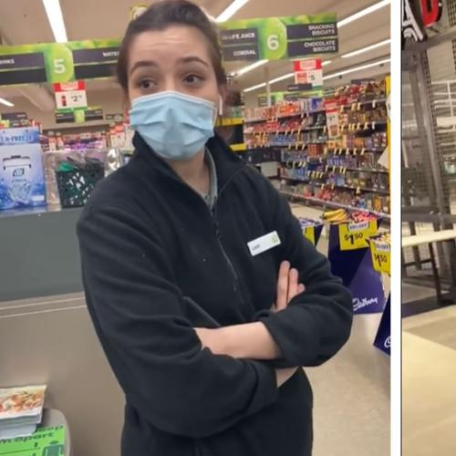 Another Conspiracy Theorist Refuses To Wear Mask, This Time At A Melbourne Woolies