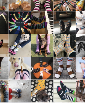 Help Aussies In Need Get Through Winter Just By Showing Off Your Socks