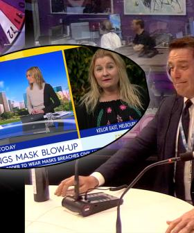 Karl Stefanovic Addresses His 'Bunnings Mask Blow-Up'