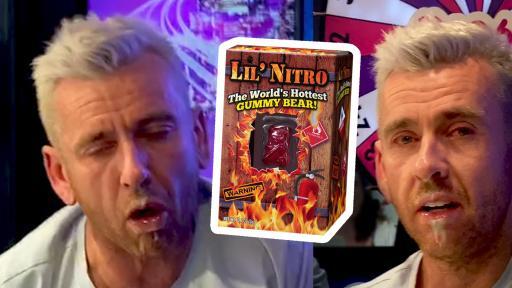 "The ""World's Hottest Gummy Bear"" trust test 🔥"
