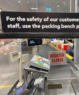 Aldi Shoppers Are Divided After A New Sign Goes Up At The Checkout