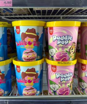 You Can Now Buy Bubble O'Bill & Rainbow Paddle Pops in TUBS!