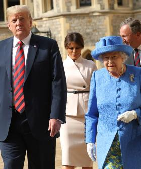 The Queen And US President Donald Trump Share Rare Phone Call