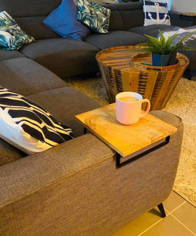 "This $10 ""Instant Coffee Table"" From Kmart Has People In Awe"
