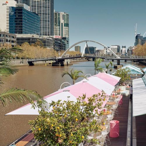 Melbourne's Floating Pop-Up Bar Has Announced When It's Coming Back To The Yarra