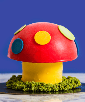 eBay have Teamed Up With Gelato Messina To Create A Dr Evil Magic Mushroom Cake And It Goes On Sale Tomorrow!