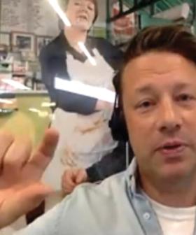 Jamie Oliver's Outrageous Penis Joke On Live Radio!