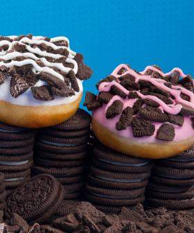 Strawberry Oreo Krispy Kremes Can Be Delivered Straight To Your Door This Weekend