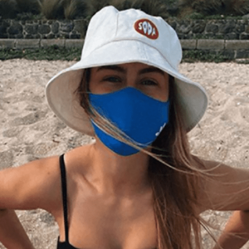 Fitness Guru Steph Claire Smith Responds To Bizarre Backlash Over Masking Up At Melbourne Beach