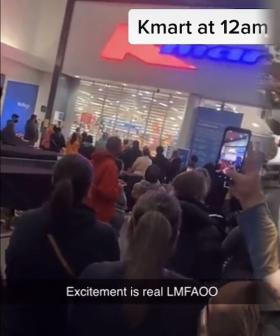 There Were Absolute Scenes When Kmarts Around Melbourne Opened Their Doors At Midnight