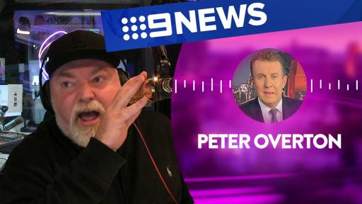 Kyle prank calls Peter Overton from 9 News 😂