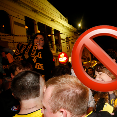 Warning To All Richmond And Geelong Fans Ahead Of The Grand Final