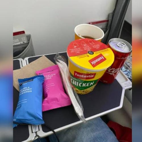Virgin Australia Serves Up 2-Minute Noodles In Business Class