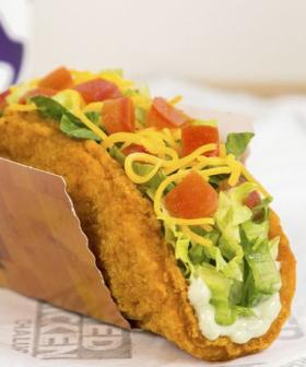 Taco Bell Is Slinging Fried Chicken Taco Shells This Weekend