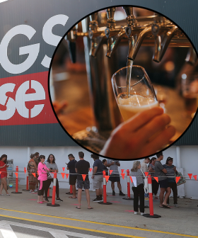 This Was One of The First People To Visit Bunnings & The Pub After Melbourne's Lockdown