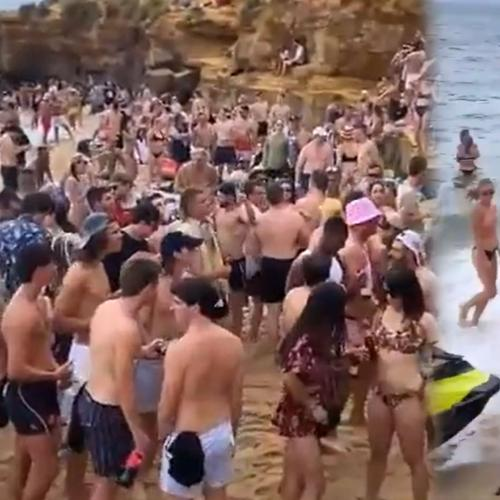 "Victorians Told ""Don't Risk Everything"" After Footage Of Massive Beach Party Emerges"