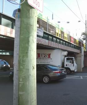 This Guy Was Out Filming A Doco About The Montague St Bridge...And Guess What Happened?