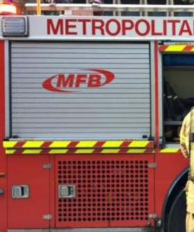 Massive Fire Breaks Out At Factory In Melbourne's Southeast
