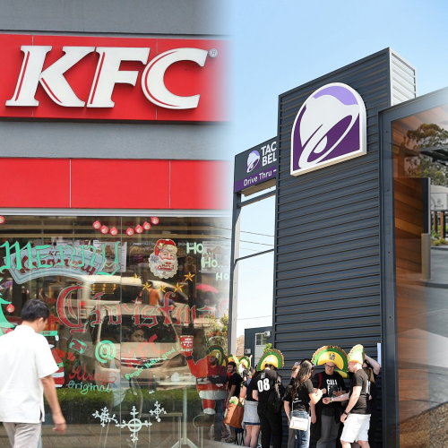 Taco Bell, Carls Jnr & KFC To All Open At One Melbourne Suburbs New Fast Food Heaven
