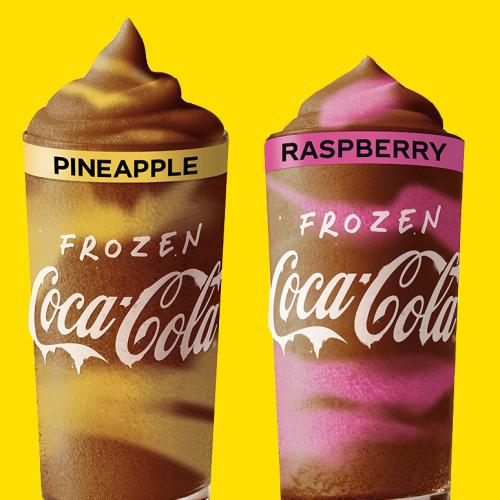 Maccas Has Release 7 Insanely Summery Frozen Coke Flavours