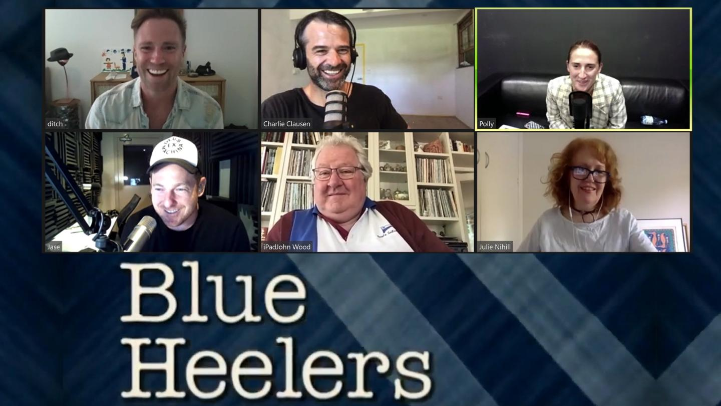 The cast of BLUE HEELERS reunite for a 2021 Table Read!
