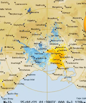HALLELUJAH: Melbourne's Cool Change Is Coming Within The Next HOUR